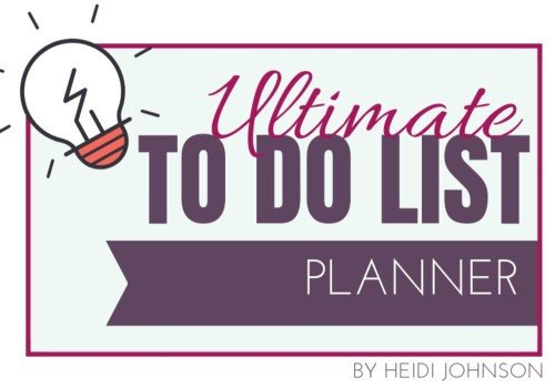 Ultimate To Do List  – Get it Here 2