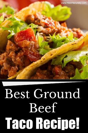 best ground beef taco recipe