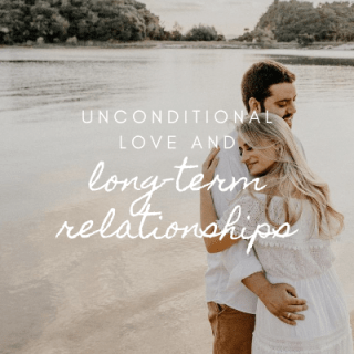 Unconditional love and long-term relationships