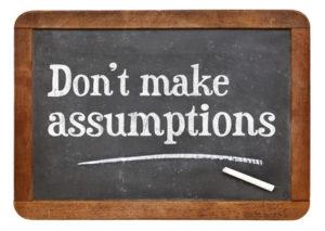 assumptions and biases