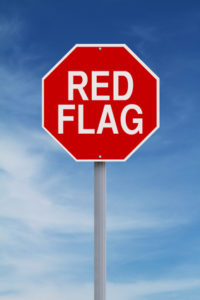 what are your red flags?