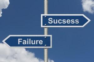 failure vs learning
