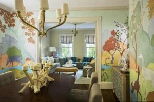 Dining Room by Interior Designer Boston & Cambridge, Heidi Pribell