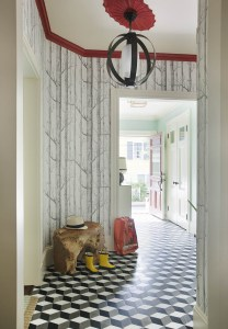 Entry by Interior Designer Boston & Cambridge, Heidi Pribell