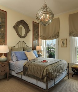 Master Bedroom by Interior Designer Boston & Cambridge, Heidi Pribell