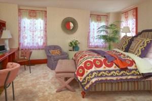 Guest Bedroom by Interior Designer Boston & Cambridge, Heidi Pribell