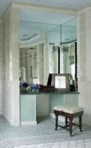 Bathroom by Interior Designer Boston & Cambridge, Heidi Pribell