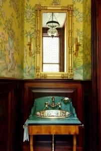 Powder Room by Interior Designer Boston & Cambridge, Heidi Pribell