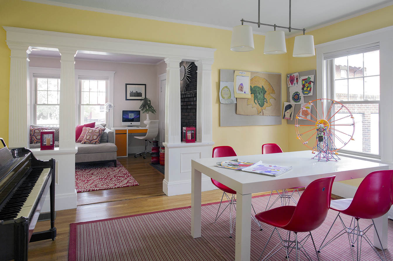 Playroom by Interior Designer Boston & Cambridge, Heidi Pribell