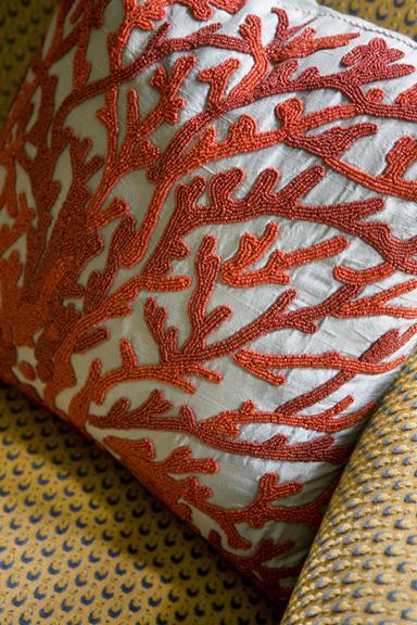 Heidi Pribell Pillow Detail