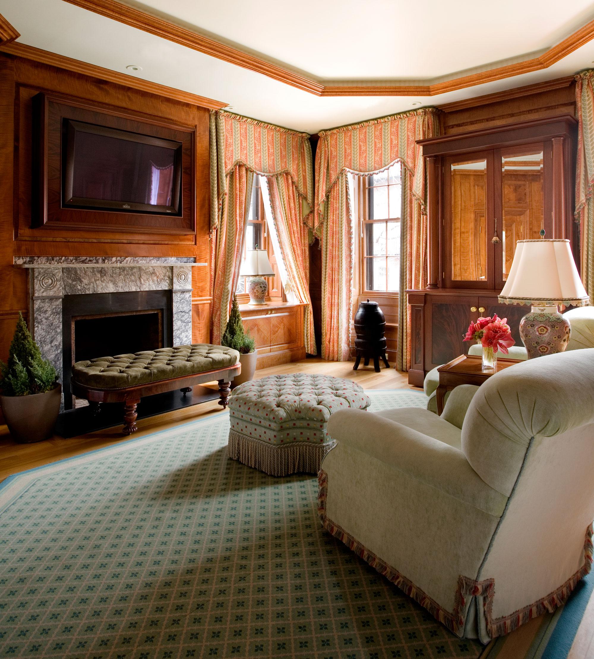 Dressing Room by Interior Designer Boston & Cambridge, Heidi Pribell