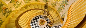 Stairway by Interior Designer Boston & Cambridge, Heidi Pribell