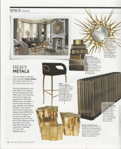 Interior Design Boston Common Metals - Page 1