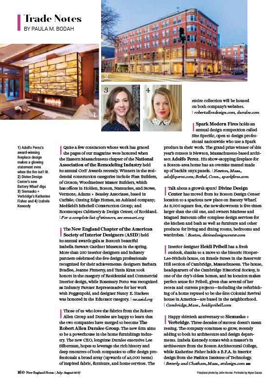 Heidi Pribell - Boston Interior Design