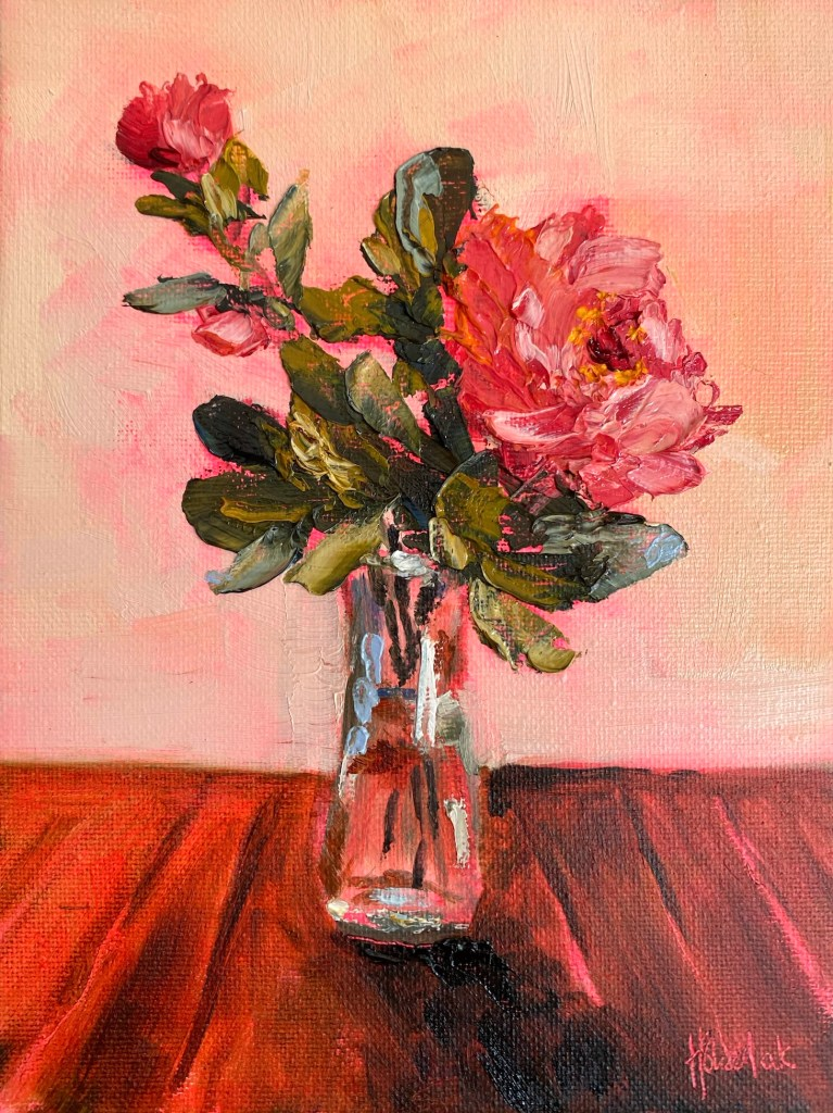 Paintings in the post 906 camellia