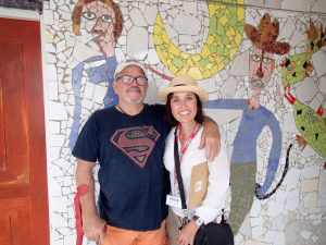 Heidi_Siefkas_and_Jose_Fuster_Outside_Havana_Cuba
