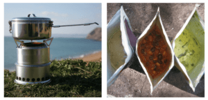 Camping_Stove_and_Dehydrated_Foods