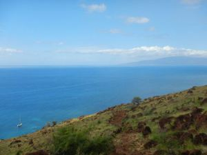 Lahaina_Pali_Trail_with_Sailboat_Maui_by_Heidi_Siefkas