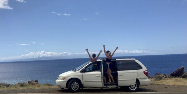 Sharing Van Life Adventures in Maui Hawaii