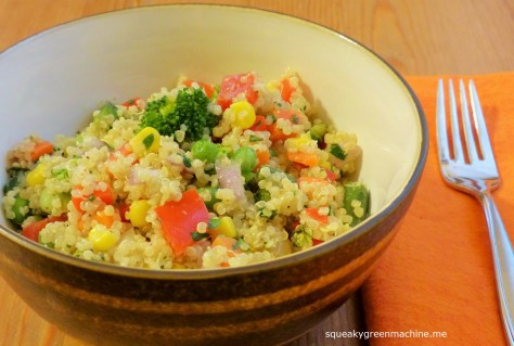 vegetables quinoa