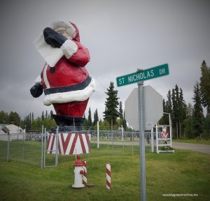 santa claus in north pole, Alaska