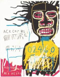 'Self Portrait as a Heel', Jean-Michel Basquiat