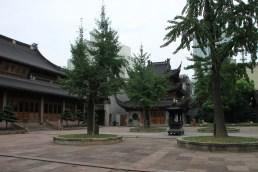 Ein Innenhof des Qita-Tempels