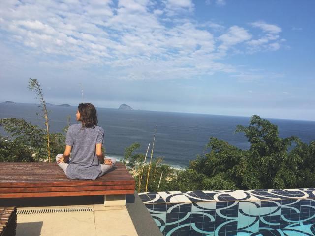 Zendaya's house vacation