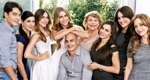 Sofia Vergara's family dp