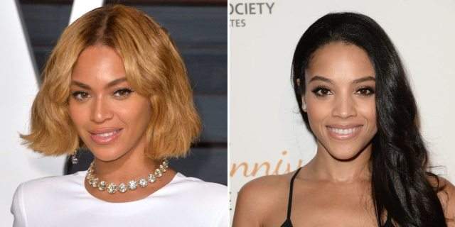 Beyonce and Bianca Lawson