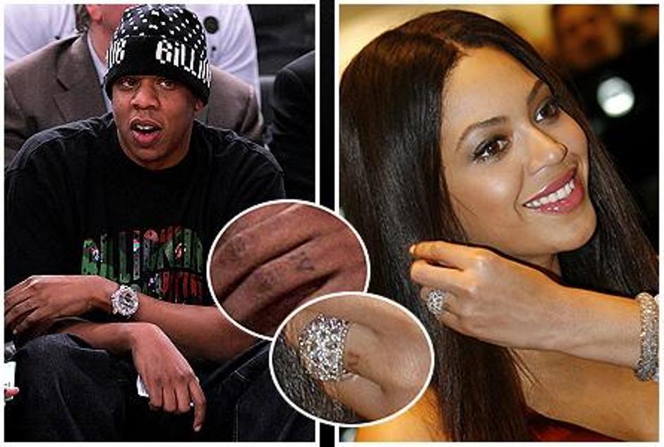 Jayz and Beyonce tattoo