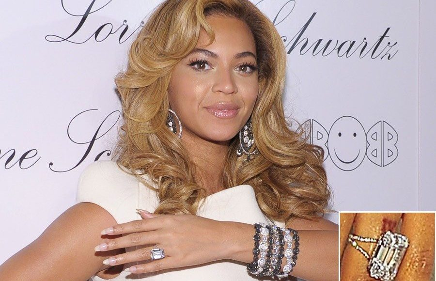 beyonce house amp engagement ring