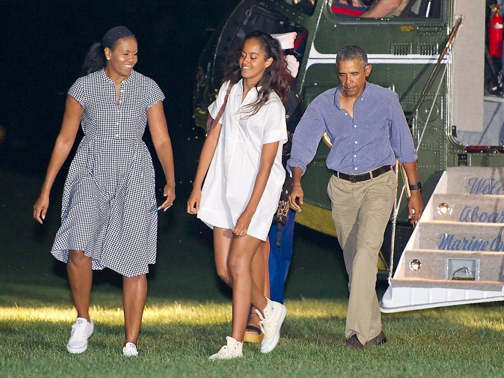 Michelle Obama's height 6