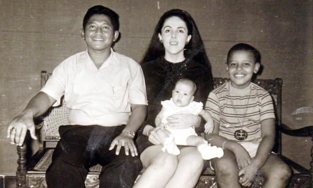 Barack Obama's parents