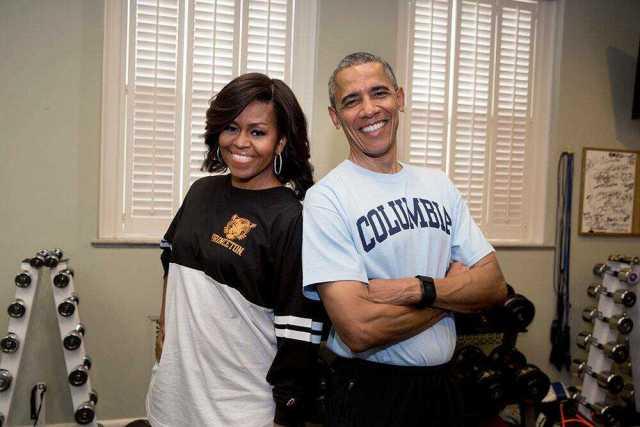 Barack Obama's height 5