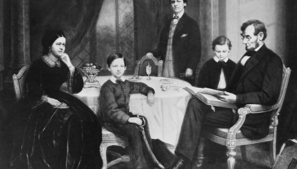 Abraham Lincoln Wife Sons And Family