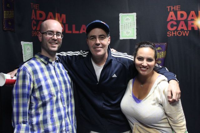 Adam Carolla and Gina Grad