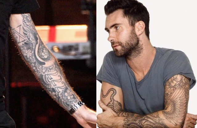 Adam Levine tattoo 7