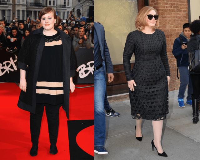 Adele's height 5