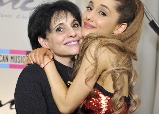 riana Grande And MOM Joan Grande