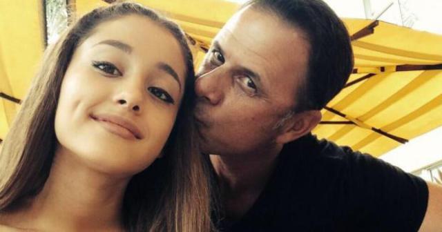 Ariana and dad Edward Grande