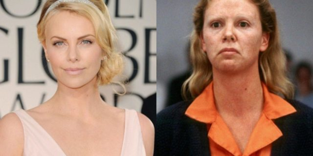Charlize Theron's height 5
