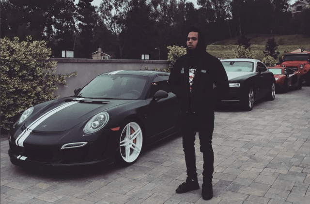 Chris Brown Porsche 911 Turbo S