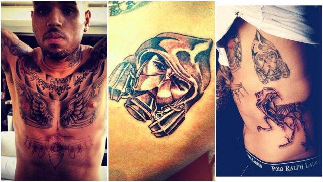 chris brown jet tattoo - photo #11