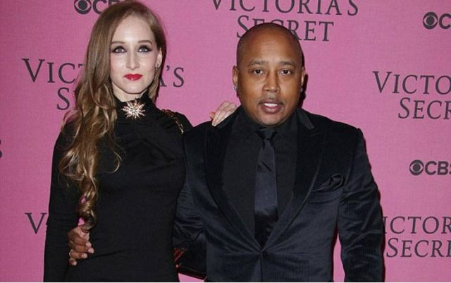 Daymond John with Fiancée Heather Taras