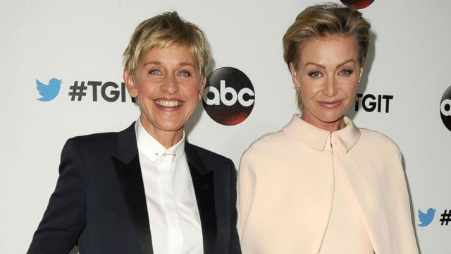 ellen degeneres mother father brother and wife