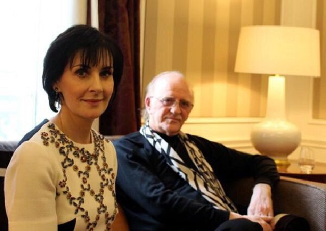 Enya and her producer, Nicky Ryan