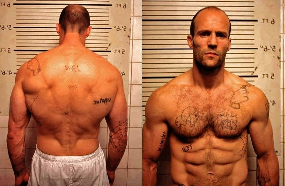 Jason Statham's height 8
