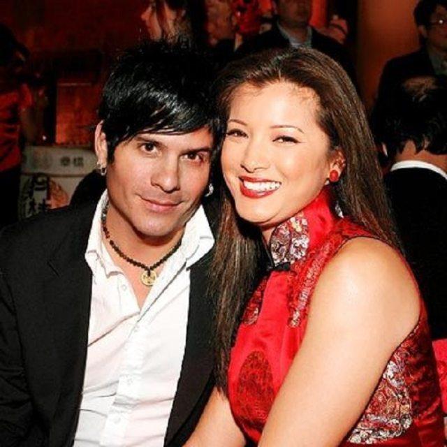 Kelly Hu with Allan