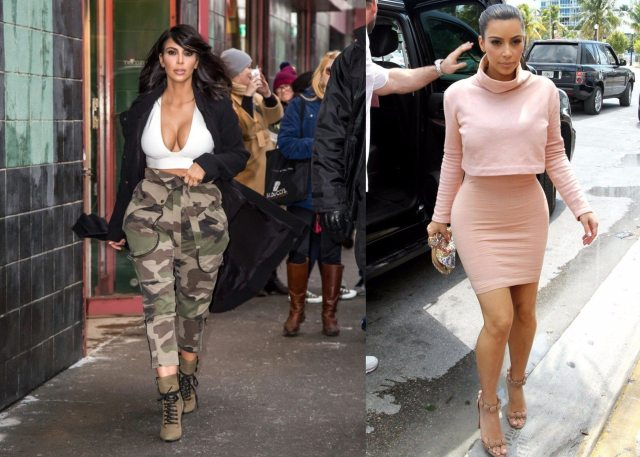 Kim army pants mini skirt